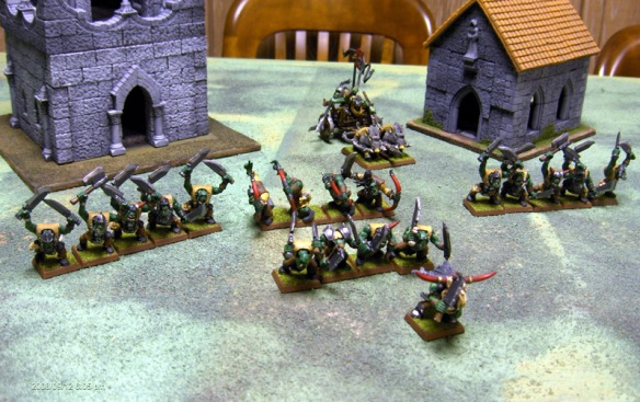 The Orc Warband
