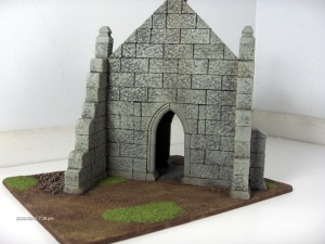Chapel, rear view