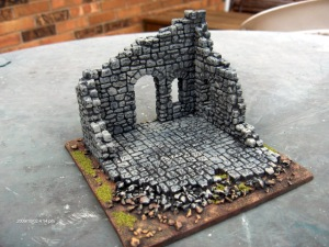 A simple corner terrain piece