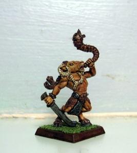 Beastmen Gor musician